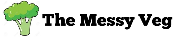 The Messy Veg Logo