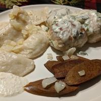 Vegan Perishke - Ukrainian Cottage Cheese Buns made Plant Based